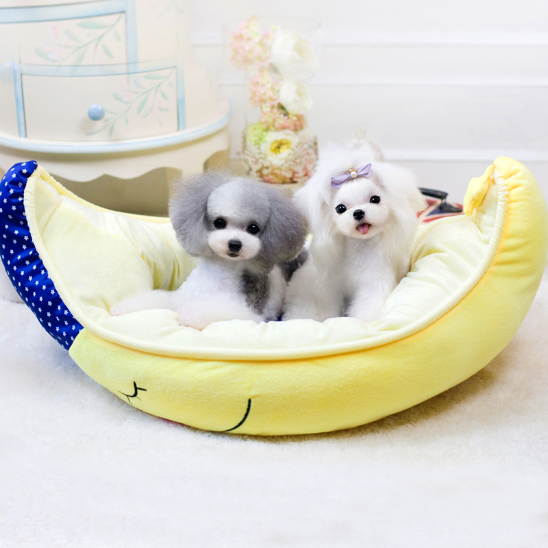 Abby moon ship kennel teddy vip pet nest cotton nest pet kennel dog sand cotton wash dual