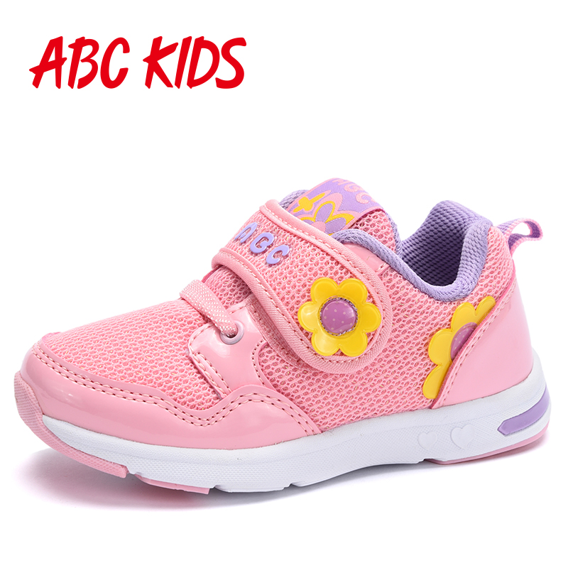 Abc children's shoes women 2016 autumn new running shoes for girls children's leisure sports shoes women shoes small shoes breathable child