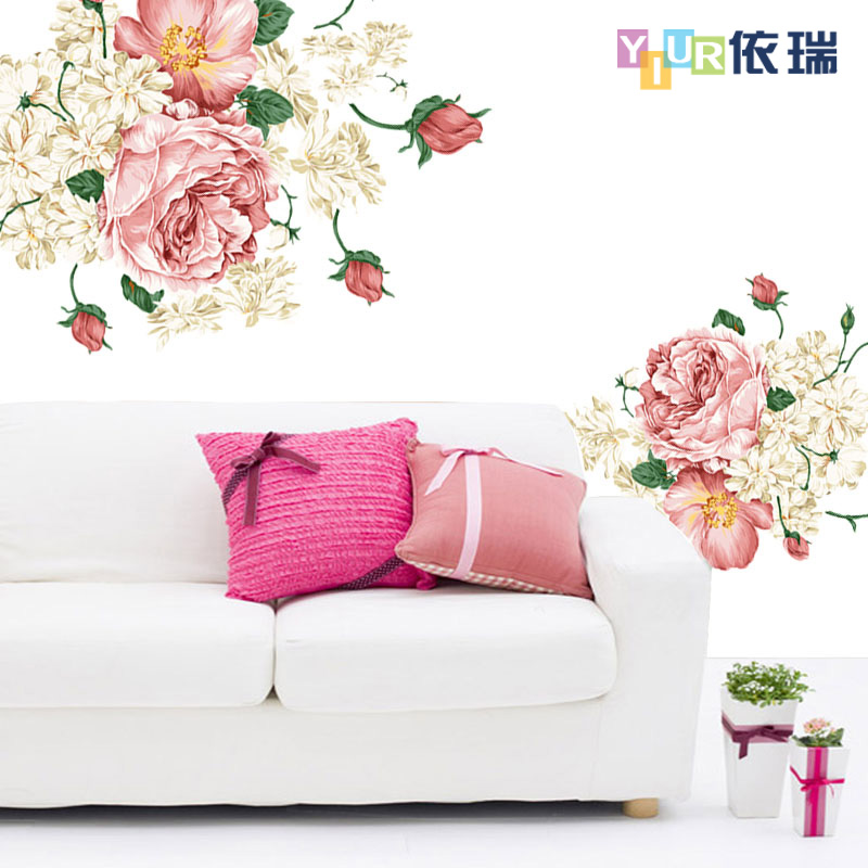 China Peony Wall Murals, China Peony Wall Murals Shopping Guide at ...