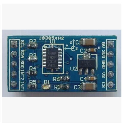 Adxl345 digital accelerometer tilt sensor acceleration module development board smart car accessories