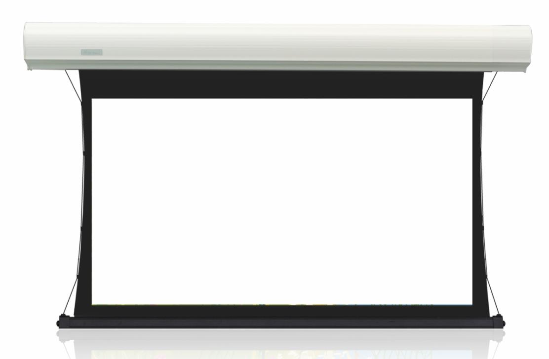 After branch jk hd-f2 mkiii st electric cable screen 96 inch electric drawcord 16:9 acoustically transparent screen white screen