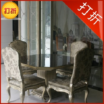 After striking new classical furniture european coffee table solid wood dining table modern champagne table ar042