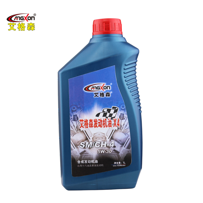 Ai gesen angxon synthetic car engine oil sm/ch-4 5w-30 synthetic motor oil 1l