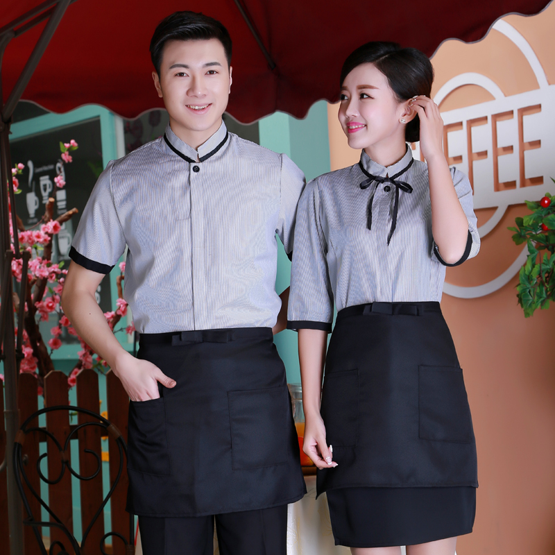 1471c5916b4 Get Quotations · Ai sang glumes 2016 hotel uniforms short sleeve spring and summer  clothes new men and women