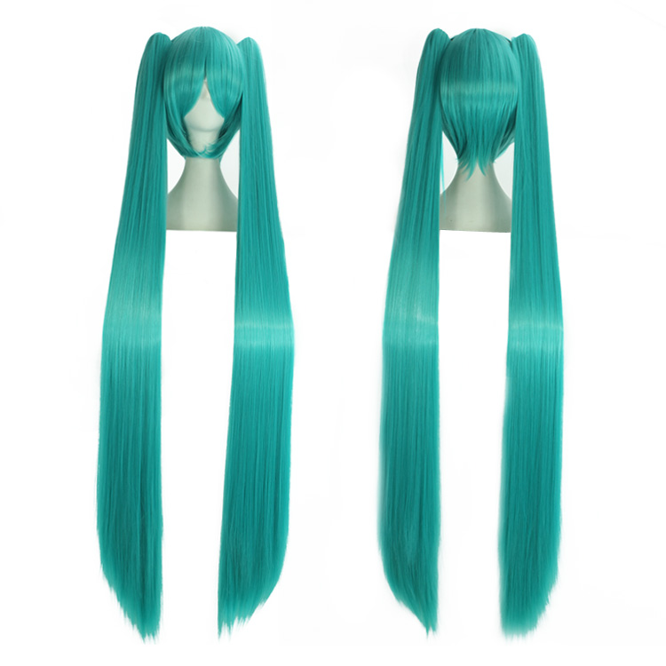 Ai sini real shot wig v home hatsune miku/multicolor long straight cosplay wig v home skeletal sound cos. Wig