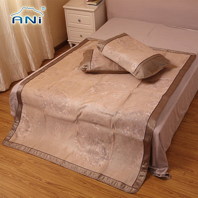 Aini seats seats ice silk ice silk mat thicker ice silk three sets of air conditioning mat 1.2 m