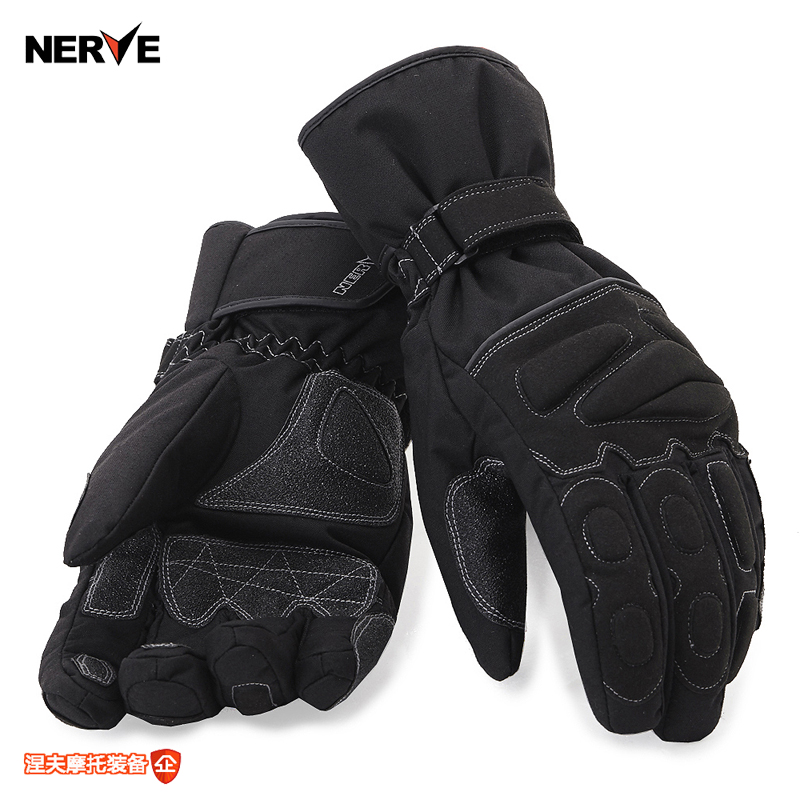 [Akon] germany nerve highly cold waterproof gloves warm winter motorcycle gloves wear and popular brands