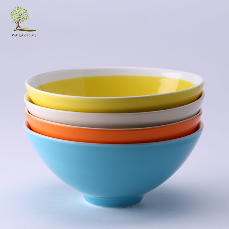 Albert household ceramic bowl candy four models korean glaze bowl soup bowl rice bowl tableware bowl