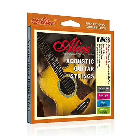 Alice aw436 strings imported steel core string acoustic guitar strings acoustic guitar a full chord alice 6 root