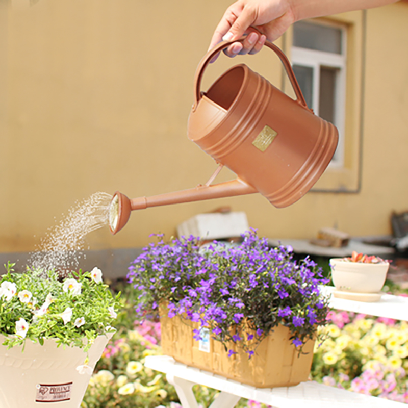 Alice genuine resin with hot and cold shower watering pot watering btw-36 water-jet gardening watering watering can pouring water bottle free shipping