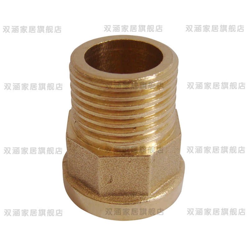 All copper 4 points dn15 copper wire inside and outside the direct illiciaceae quarter pipes inside and outside the teeth straight copper fittings copper directly