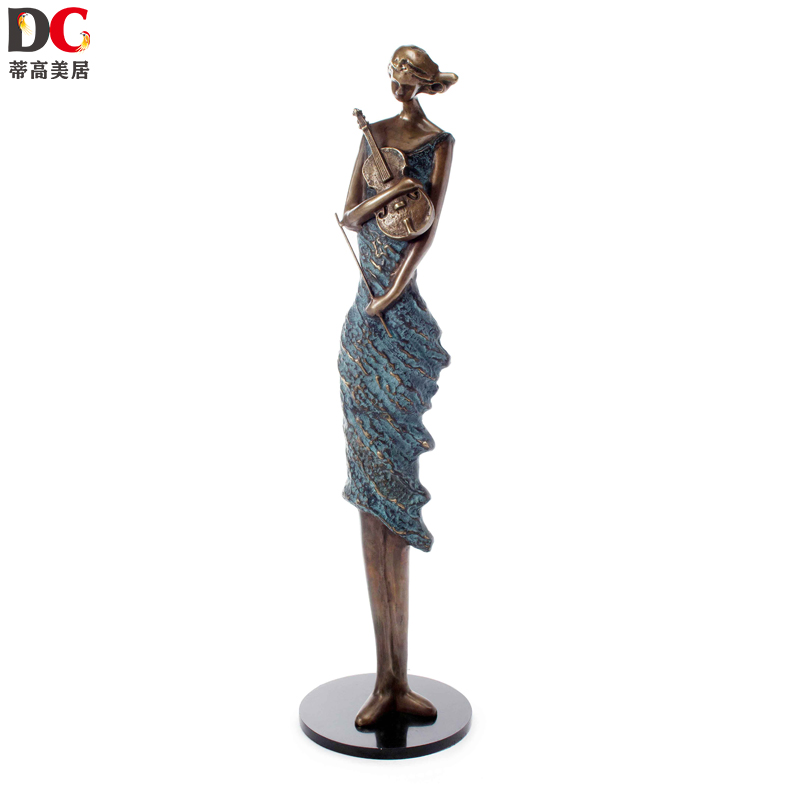 All copper bendigo mercure characters upscale european luxury villa home decoration crafts ornaments creative home furnishings