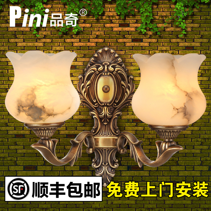 All copper marble wall lamp wall lamp corridor wall lamp wall lamp villa wall lamp wall lamp wall lamp wall lamp wall lamp wall lamp upscale luxury personalized wall sconce lamps