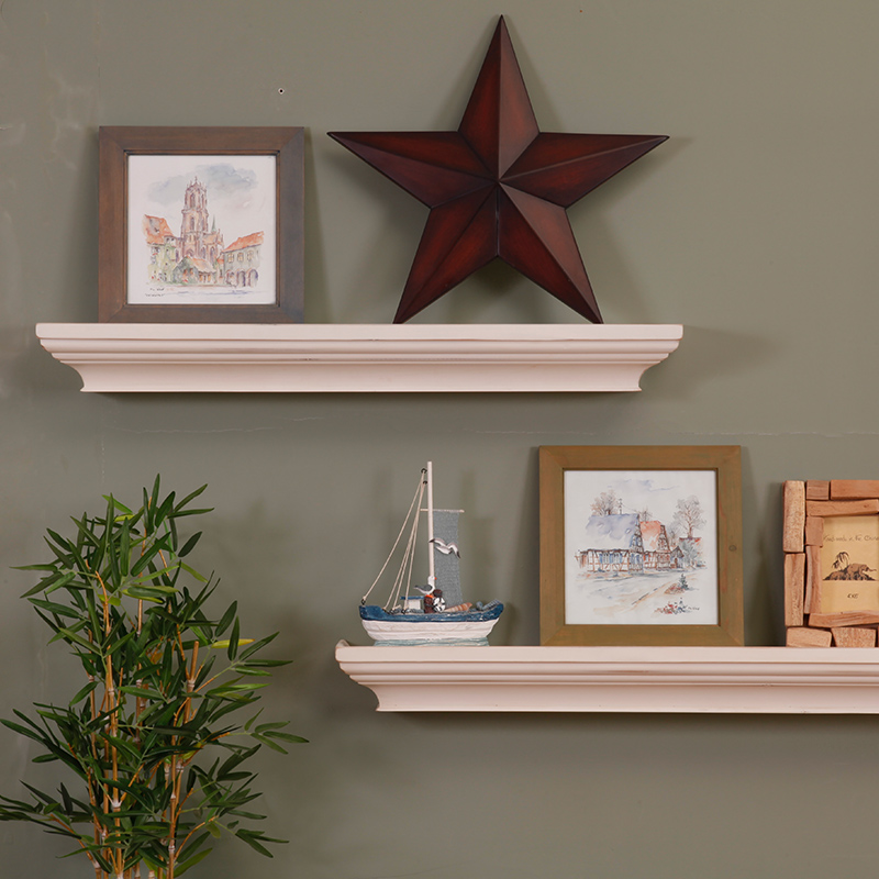 All solid wood american to do the old wood clapboard wall shelf wall shelf racks wall shelves