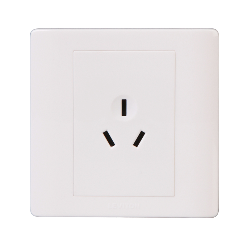 American leviton switch socket socket boston p series with three holes with three holes 10a power socket