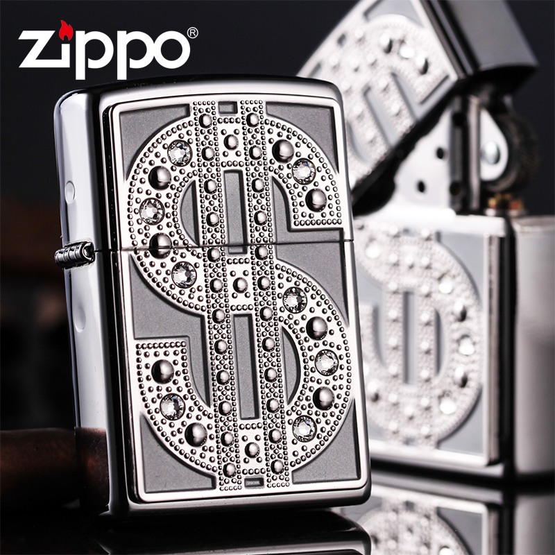 American original authentic zippo lighter limited edition genuine windproof lighter crystal notes posted chapter 20904