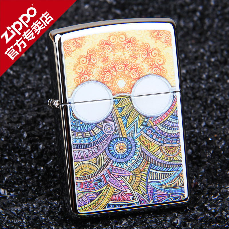 American original authentic zippo lighters zipoo genuine art limited edition lettering men's sunglasses 28871