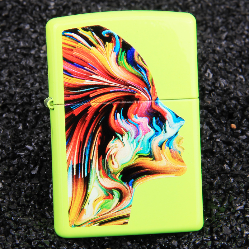 American original authentic zippo lighters zipoo genuine colorful neon 29083 limited edition men's matte paint