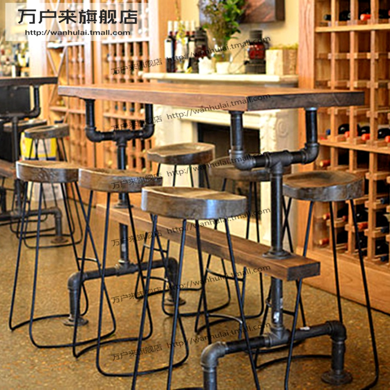 Get Quotations American Personality European Creative Wood Bar Table Cafe Casual Restaurant Tables And Chairs Tall