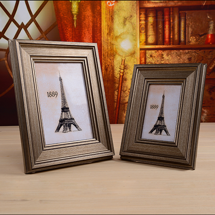American retro 7 inch 6 inch photo frame combination photo frame swing sets ikea living room european frame frame ornaments