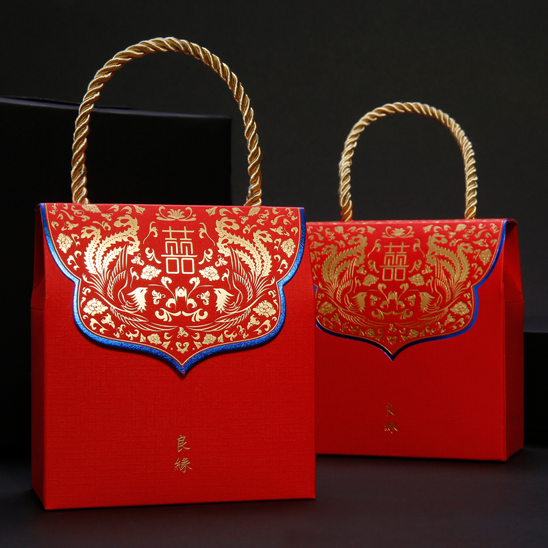 Amidst the collection of creative wedding celebration candy box 2016 chinese candy box wedding candy bags wedding supplies