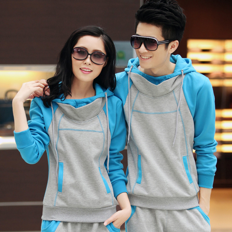 Amy jonas authentic new breathable sports suit 2016 spring and autumn new couple sets of men and women long sleeve