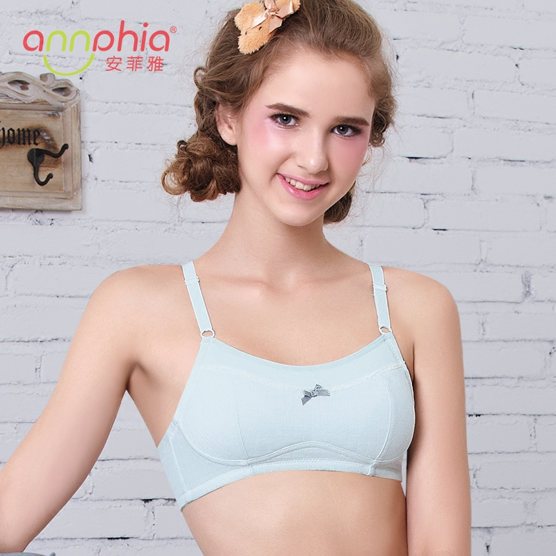 cefbd53961b6b Buy Cotton bra girl bra student developmental takou high school students  vest girl no rims shaping underwear back button in Cheap Price on  Alibaba.com