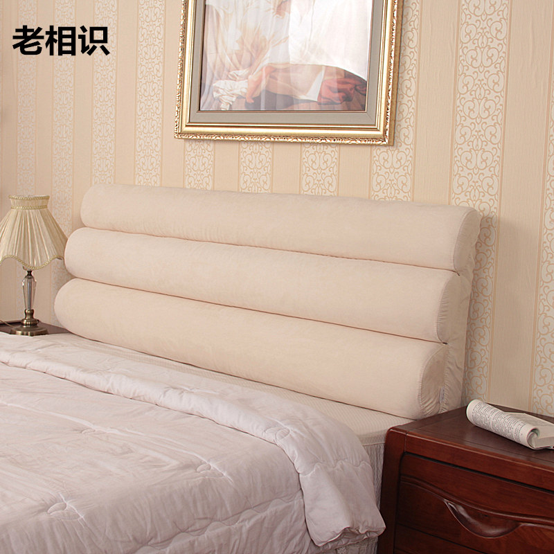 Get Quotations Andacquaintances Washable Fabric Headboard Cushions Custom Packages Bedside Large Backrest Cushion Bed Cover