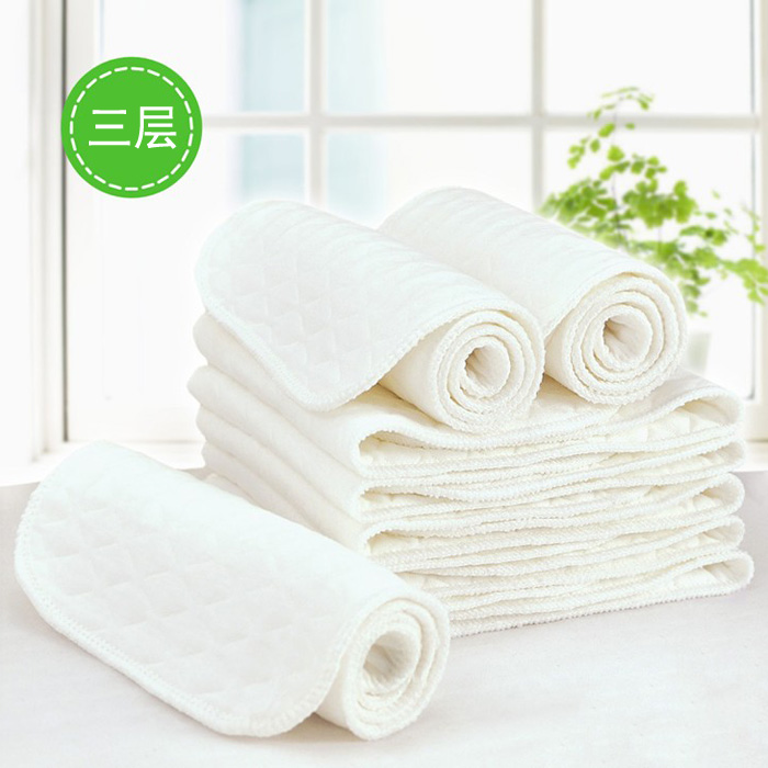 Angel ecological cotton newborn baby diapers washable cotton gauze diapers cotton diapers absorb water baby