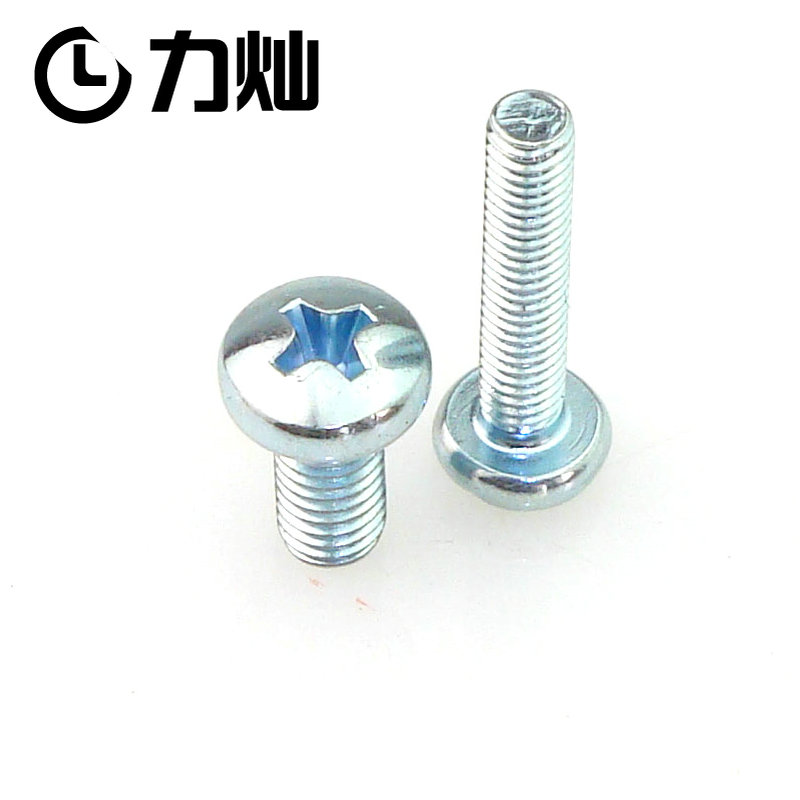 Anglo-american system of uncs phillips pan head machine screws yuan yuan machine screws round 10 #-32 (24) 1/4 -20 teeth [50]