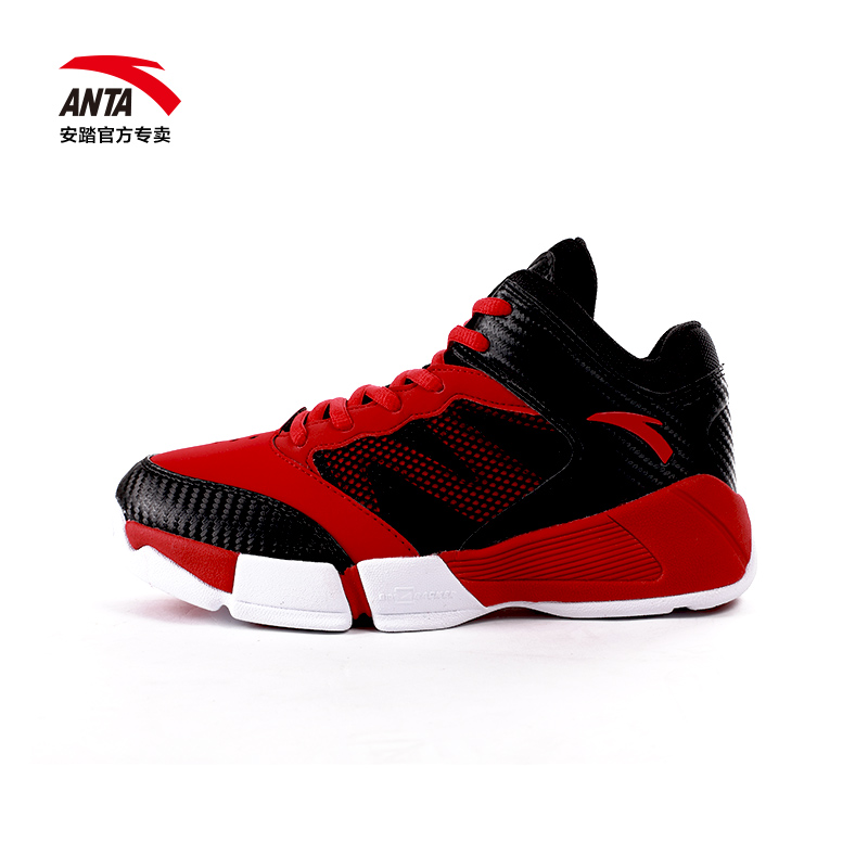 Anta shoes boys basketball shoes 2016 autumn new big boy shoes breathable wear and sports shoes 31614105