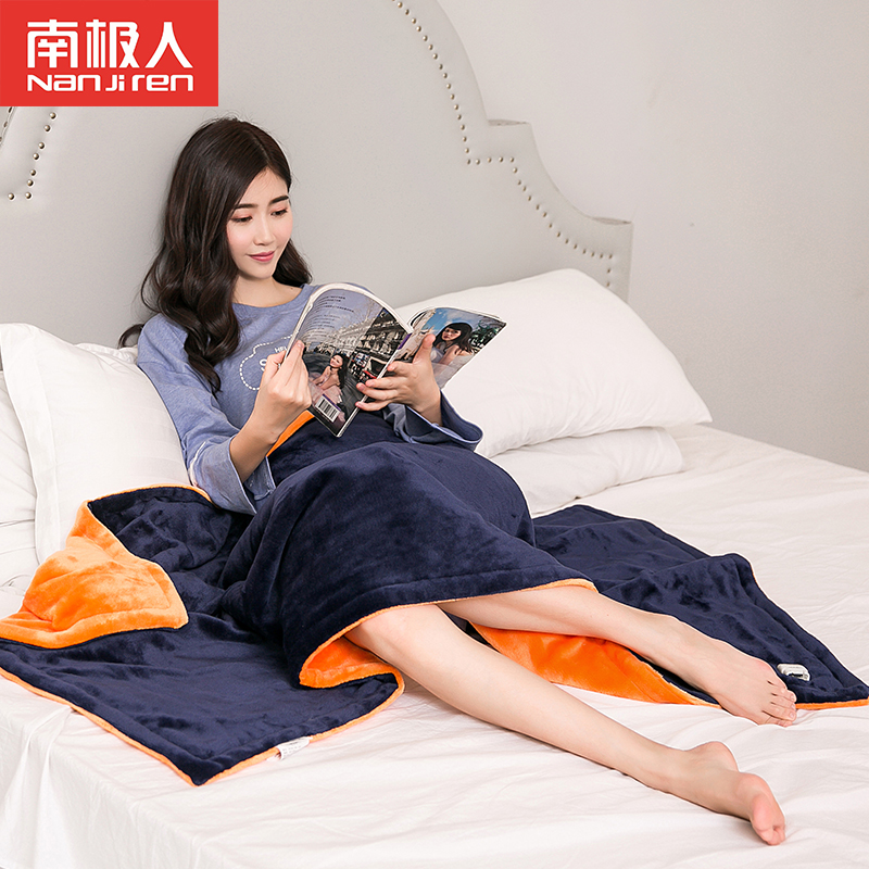 Antarctic warm blanket knee blanket multifunction electric heating pad heating blanket knee blanket multifunction electric heating washable double