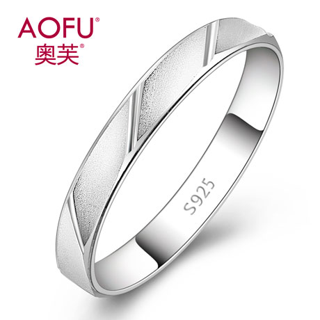 Aofu 925 silver tail ring pinkie ring single ring ring fashion personality korea ms. birthday gift