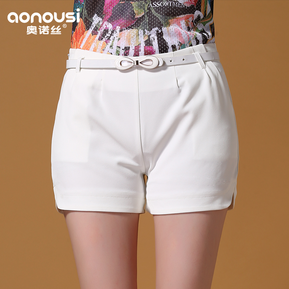 Aonuo si 2016 summer new korean version of cultivating wild shorts female candy colored shorts shorts female tide k039