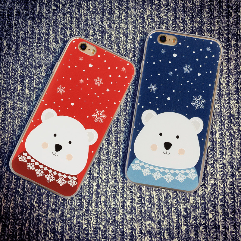 e45ccc692597 Get Quotations · Apple 6 phone shell original conner 5se iphone6plus  silicone shell cartoon new personality popular brands