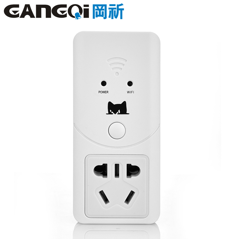 Appliance socket wifi smart home system remote control switch wireless remote phone control system burglar alarm plug