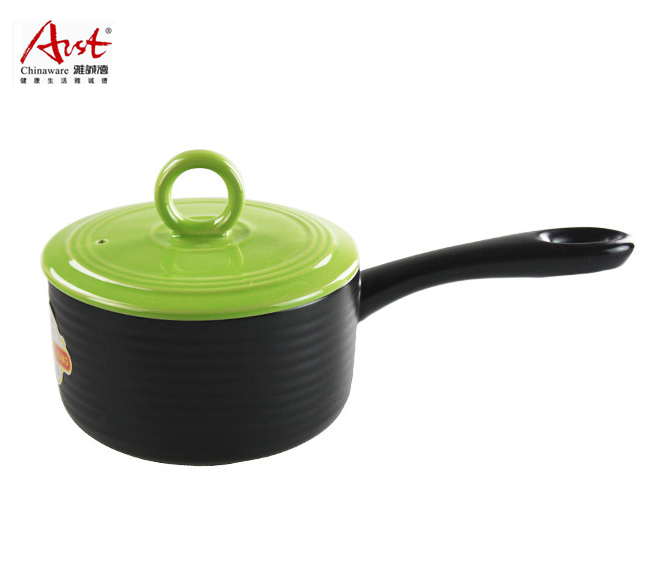 Arst/ya tak new dry without cracking the ceramic milk pot stew pot pot pot boiled milk pot 1.5l shipping