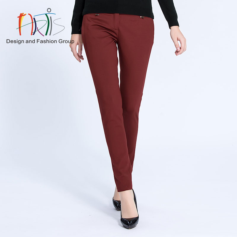 Artis artis ladieswear malls the same paragraph ladieswear dyeing fabrics knitted trousers 3814001-381012