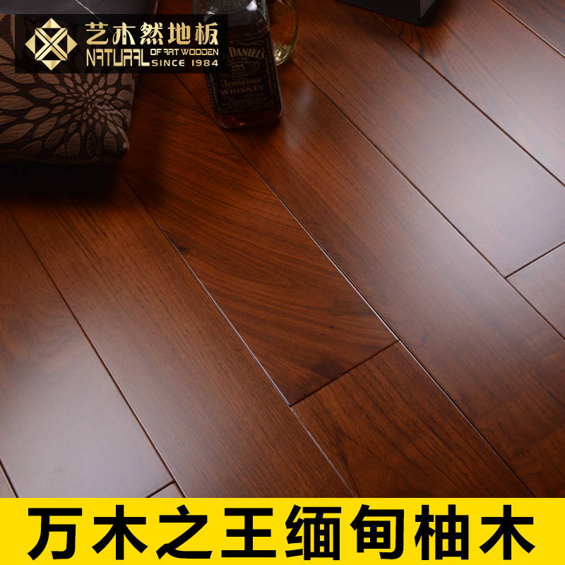 Arts woodenly pure burmese teak wood flooring wood flooring factory direct