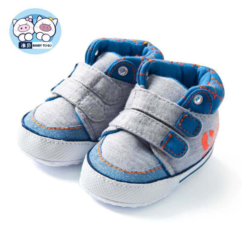 Associate tony baby winter shoes soft bottom baby shoes baby toddler shoes soft bottom autumn and railway network canvas shoes