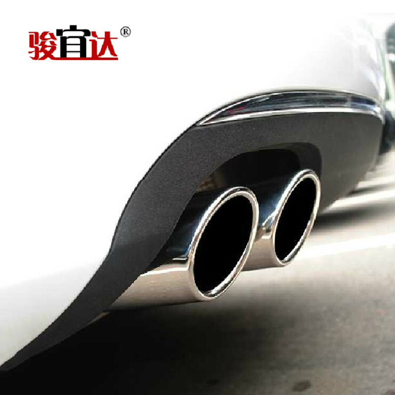 Audi a1 audi a1 a1 modified tail pipe stainless steel tail pipes dedicated exhaust pipe exhaust tube