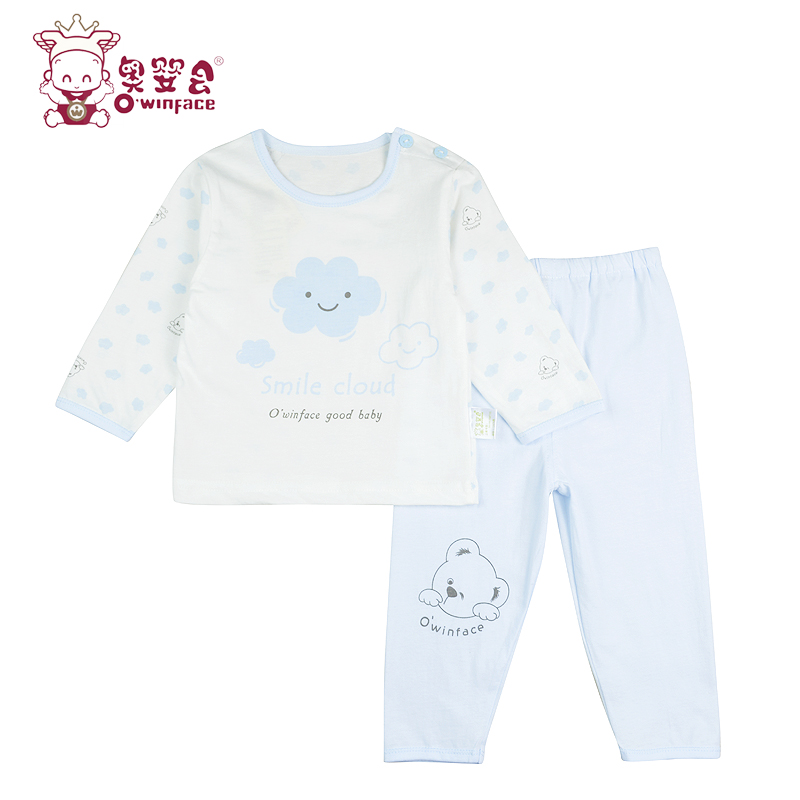 Austrian infants and children will be summer infant baby cotton underwear for men and women long sleeve pajamas underwear sets thin air conditioning service