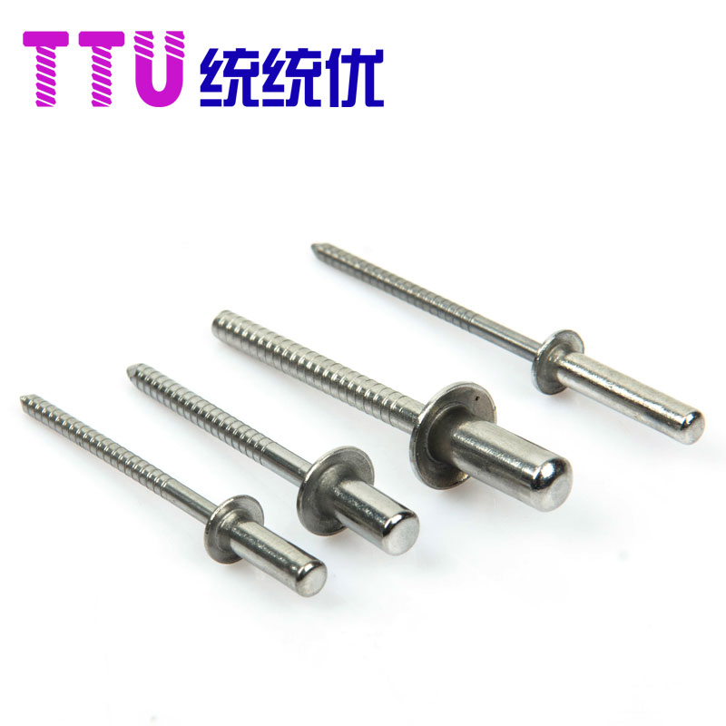 Authentic 304 stainless steel round closed blind rivets m4.8 * 8-25 [100/1 Package]