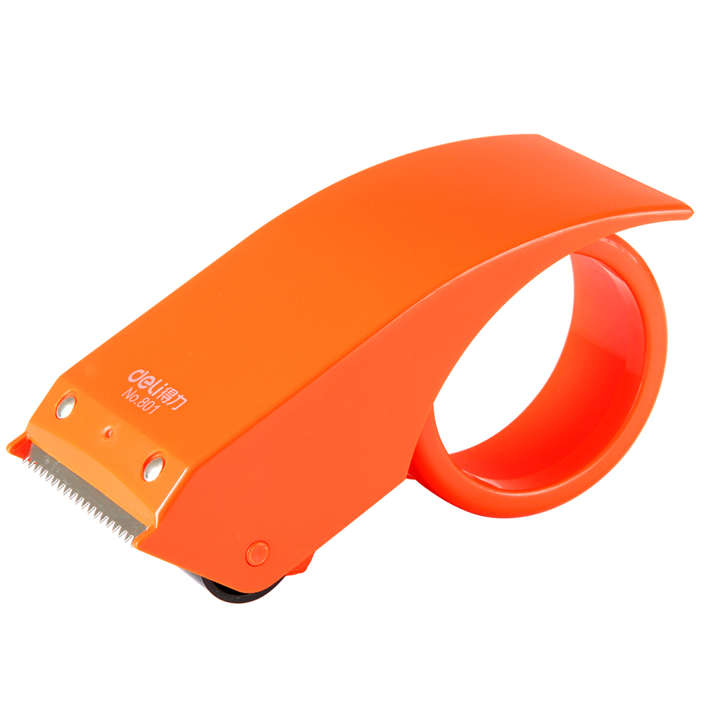 Authentic deli 801 cutter/8cm sealing tape tape dispenser tape dispenser is capable of sealing tape machine