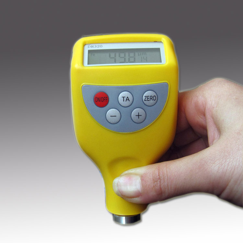 Authentic east as DR320 metal probe digital coating thickness gauge paint thickness meter thickness gauge