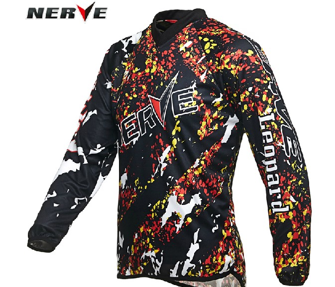 Authentic german nerve motocross motorcycle suit professional men and women cross country t-shirt summer shirt