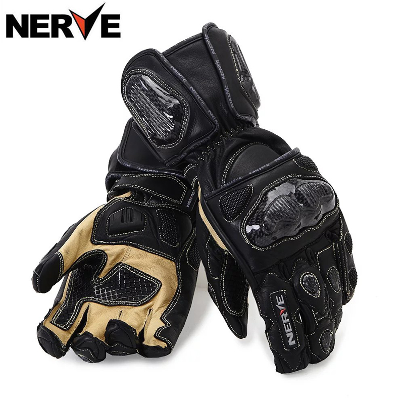 Authentic german nerve motorcycle popular brands knight riding gloves leather gloves gloves warm winter gloves for men