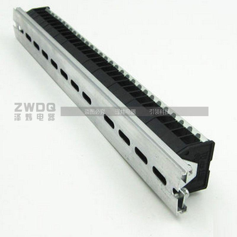 Authentic guaranteed td-1530 combination rail terminal block connector terminal blocks 15a 30