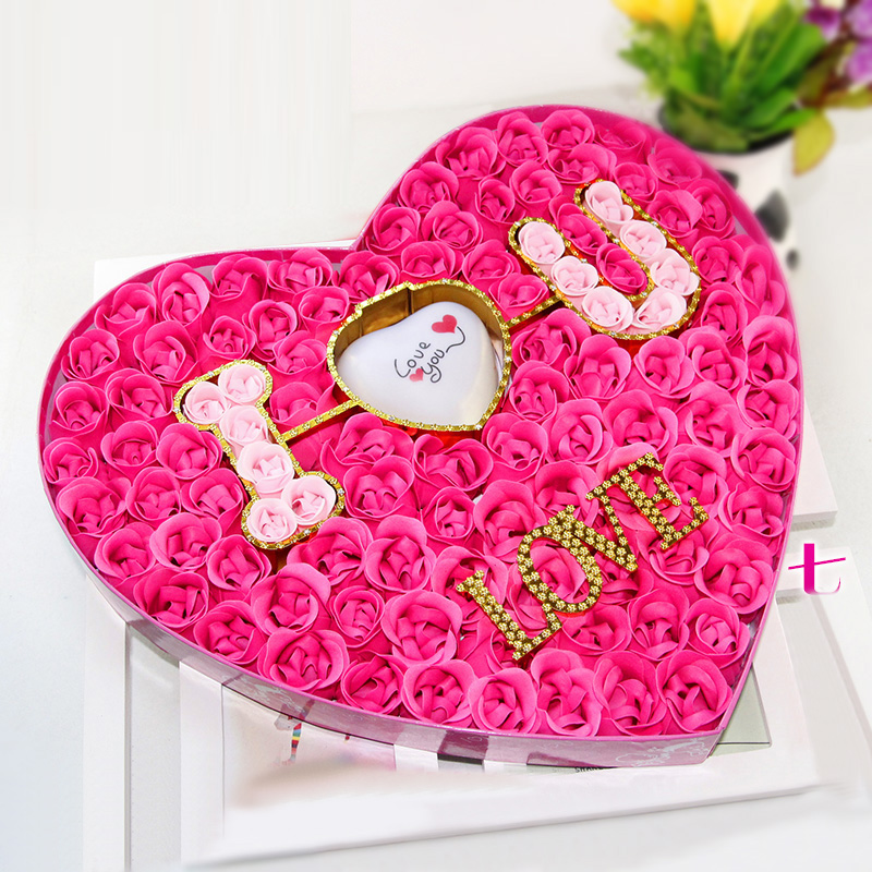 Get Quotations Authentic Korean Soap Flower Gift Ideas And Practical Gifts Romantic Surprise Birthday Rose