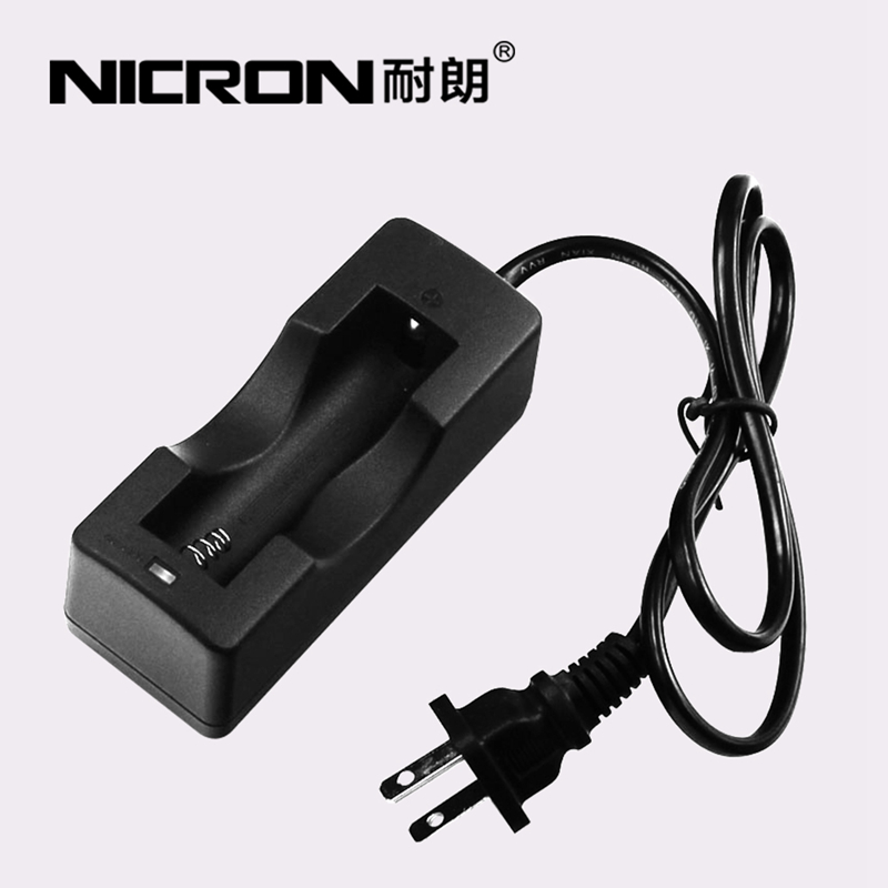 Authentic nicron flashlight 18650 dedicated charger lithium battery charger cable indicator